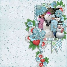 Created using Snowman by Kristin Aagard Available here: http://scraporchard.com/market/Digital-Scrapbook-Kit-Snowman.html