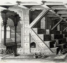 antonio basoli architectural alphabet letterology.blogspot