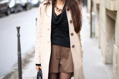 Chain necklace + winter outfit