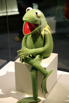 Kermit the Frog-classic idea of what a puppet is