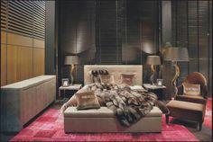 Et stillig soverom med en bitteliten følelse av vill natur. Ja selvfølgelig!