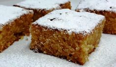 Greek Sweets, Greek Desserts, Greek Recipes, Desert Recipes, Healthy Desserts, Greek Cookies, Food Decoration, Creative Cakes, Confectionery