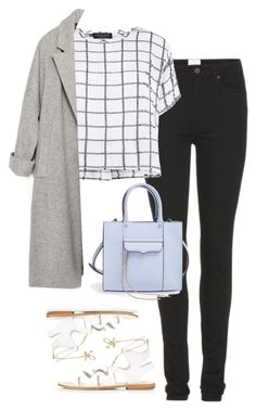 Untitled #1187 by zoella-clothes on Polyvore featuring Myne, Zara, Acne Studios, Topshop and Rebecca Minkoff