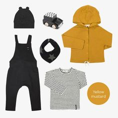 Yellow Mustard Baby Outfits, Baby Online, Kids Fashion, Yellow, Mustard, Shopping, Clothes, Baby Coming Home Outfit, Outfits
