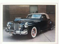 1941 Buick Roadmaster Convertible Coupe restored by Bill Breshears, Sr. American Classic Cars, Old Classic Cars, Cars Usa, Us Cars, Buick Cars, Buick Gmc, Vintage Cars, Antique Cars, Convertible