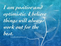Daily Affirmations 24 July 2015