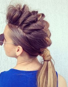 Mohawk Braid Hairstyles for 2016   Hairstyles 2016 New Haircuts and Hair Colors from special-hairstyles.com