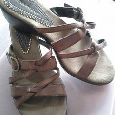 Shoe Brown  shoe Montego Bay Club leather upper  Shoes Sandals