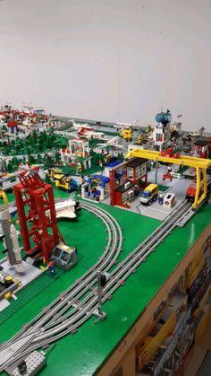 Classic Lego, Lego Ship, Lego Trains, Vintage Lego, Lego Worlds, Cool Lego, Lego Building, Lego City, Legos