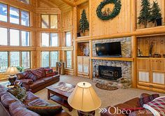 Perfect for any log cabin home!