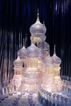 The Yule Ball Ice Sculpture