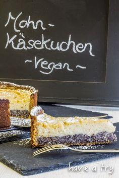 Mohn-Käsekuchen (vegan)