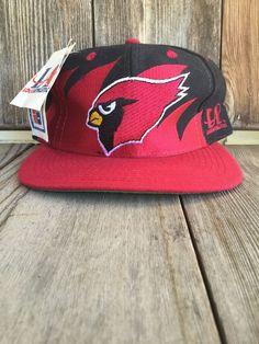 ... new zealand arizona cardinals vintage snapback vtg hat cap logo  athletic shark tooth logoathletic arizonacardinals 0de84 4d6aad464894