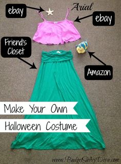 Make Your Own Halloween Costumes
