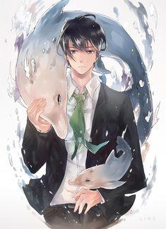 Free! ~~ Spirit of the Dolphin, Haruka Nanase