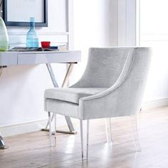 Myra Chair in Silver