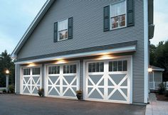 Garage Door Styles - Carriage House Garage Doors, Contemporary Garage Doors, Raised Panel Garage Doors
