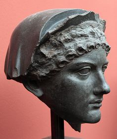 """Roman portrait of Agrippina the Younger (or """"Minor""""), wife of Emperor Claudius and mother of Emperor Nero of Julia-Claudia Dynasty Ancient Rome, Ancient Greece, Ancient History, Statues, Fall Of Constantinople, Empire Romain, Roman Sculpture, Roman History, Roman Emperor"""