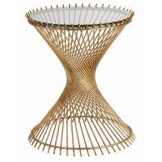 Pascal Iron/Glass Side Table - Arteriors Home