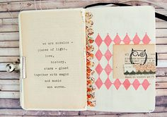 Quotes Art Journal (by Iara_baersgarten) want to do a collage of a person with this phrase on it