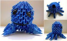 Destiny's Child: 3D Origami Oswald Octopus Tutorial