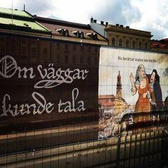 """Om väggar kunde tala"" - get the stories (and more) at Gustav Adolfs torg and @stadsmuseetgbg #gbg #gbgftw #göteborgsstad #history (via Iconosquare – Instagram webviewer)"