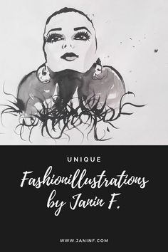 The original fashionillustrations I've created mostly with black ink and acrylic colors. Fashion Painting, Fashion Art, Metallica, Acrylic Colors, Margarita, Ink, The Originals, Unique, Illustration