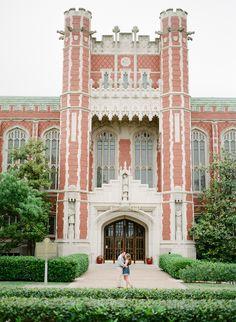 University of Oklahoma | OU | Fine Art Film Photography | Norman, Oklahoma Engagement Session | www.saracphotography.com