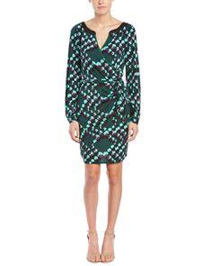 Hale Bob Ruched Wrap Dress is on Rue. Shop it now.