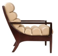 Zoey Chair from Edward Ferrell + Lewis Mittman on Dering Hall (=)