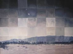 """ANDREW WATTS  Flat Bed, 2012    oil paintingonstretched canvas  30""""hx40""""wx1.5""""d"""