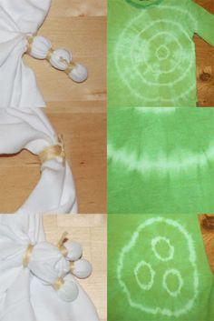 kleine STICHE: t-shirts selber batiken