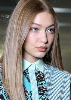 Gigi Hadid at the Milan Fashion Week 2018