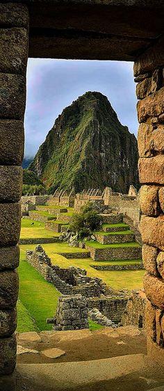 Machu Picchu and Huayna Picchu, Urubamba, Peru