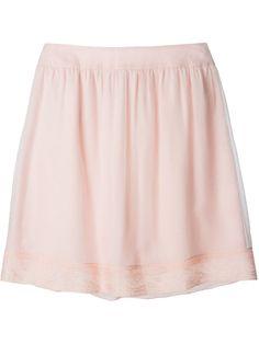 Christian Dior Vintage Lace Hem Skirt - A.n.g.e.l.o Vintage - Farfetch.com