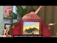 Conter un kamishibaï: Exemple d'une séance - YouTube