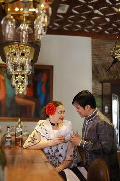 Filipiniana themed prenup Filipiniana Wedding Theme, Modern Filipiniana Dress, Prenup Theme, Filipino Wedding, Philippines Fashion, 90s Theme, Pinoy, Wedding Planning, Dream Wedding