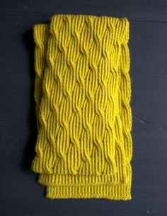Reversible Rivulet Scarf   The Purl Bee
