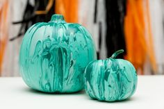Halloween Teal Pumpk