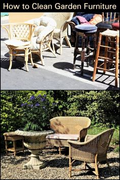 How to Clean Garden Furniture  Restore the look of your garden furniture with this simple guide.