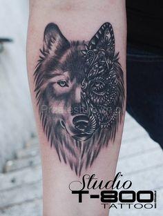 wilki tatuaże - Szukaj w Google