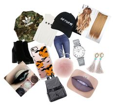 """""""Casual 5"""" by danielamartinez0099 on Polyvore featuring adidas, Nasaseasons, Hogan, Casetify, Longines and Jeffree Star"""