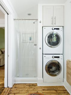 bathroom with laundry layout - Google Search