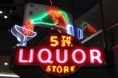 This sign is from the 1940's. The Neon Museum downtown Las Vegas 2005.