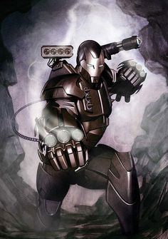 War Machine by Adi Granov