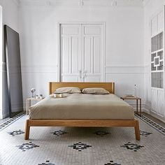 The beautiful simplicity of the #Breda bed designed by @borjagarcia  #design #punt #puntmobles #architecture #bed #interiordesign #archiproducts #instagood #contemporaryfurniture #furniture #architects #valencia #house