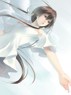 Anime - Girl in white<<------ ummm no, that's a boy. Kazuki from get backers