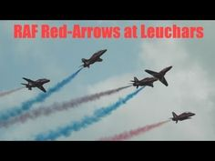 ▶ RAF Red Arrows Stunning Display at Leuchars 2013 HD! - YouTube