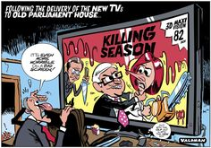 Weatherill's Renovation Season @theTiser #KillingSeason #saparli
