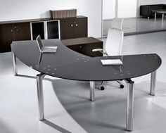 Furniture. Furniture. Wonderful Modern Home Office Furniture Ideas. Extraordinary Interior Modern Office Furniture Style Featuring Gray Chocolate U Shape Freestanding Luxury Modern Office Laptop Desk And White Freestanding Fabulous Office Leather Swivel Chair. Home Office Furniture Modern. Wonderful Modern Home Office Furniture Ideas